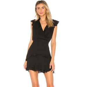 NWT Parker Tangia Black Silk Dress, size 10